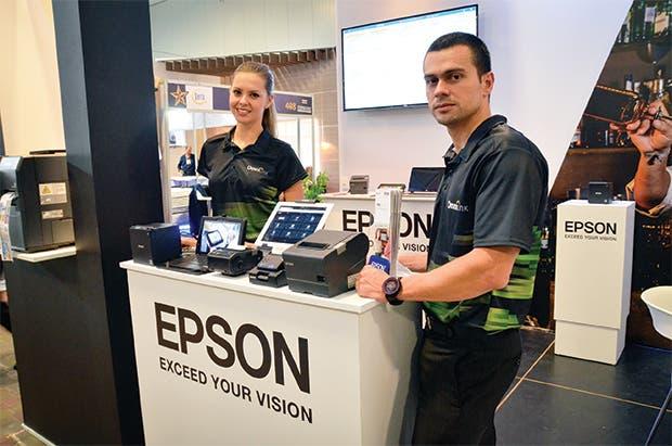 Epson presentó nuevas tecnologías para negocios
