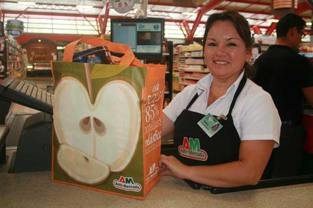 Automercado celebra hoy Día sin Bolsas Plásticas