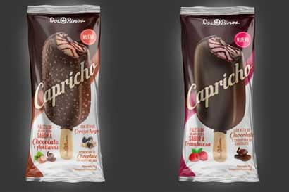 Dos Pinos lanzó dos nuevas paletas llamadas Capricho