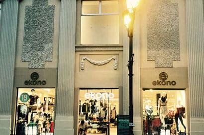 Ekono reabrió su tienda en avenida central