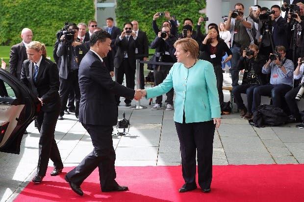 Xi y Merkel refuerzan lazos en la antesala del G-20