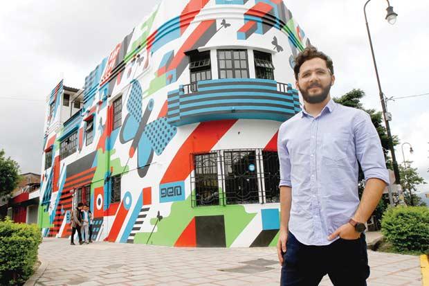 Hostel Casa del Parque se transformó en una obra colorida