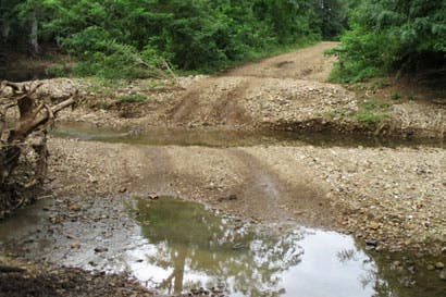 Próxima semana iniciará la rehabilitación de caminos en La Cruz