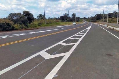 Comenzó demarcación en carretera entre Zona Norte y Caribe