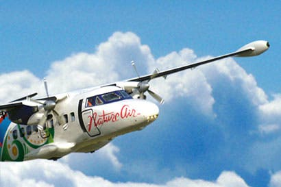 Nature Air lanzó paquete de tiquetes aéreos