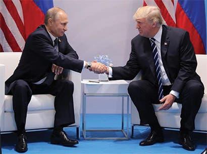 Trump y Putin se reuniron en cumbre de G-20 en medio de tensiones