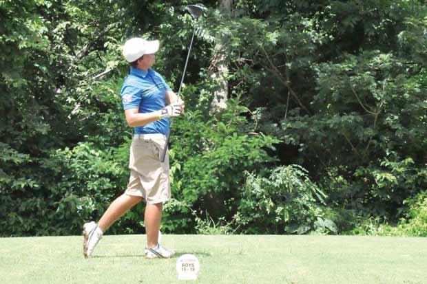 Juventud tomó el mando en golf