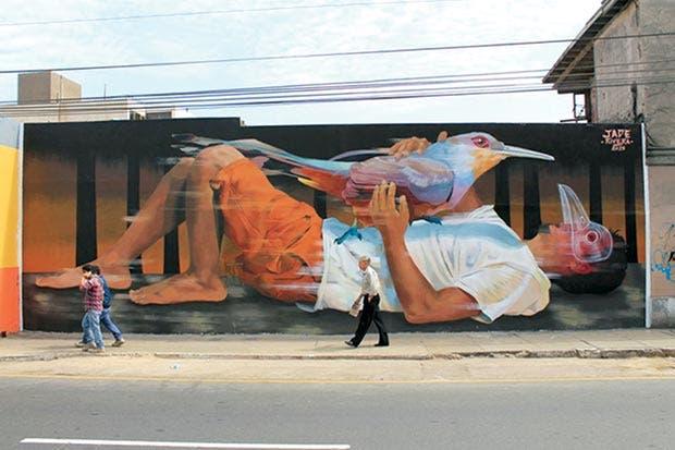 Murales embellecen Jacó