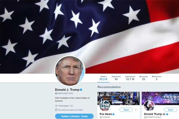 Demandan a Trump por bloquear a opositores en Twitter