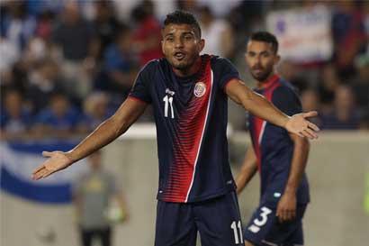 Campbell y Venegas quedan fuera de la Copa Oro