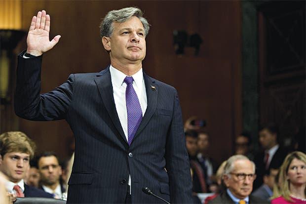 """Nominado al FBI promete """"búsqueda imparcial de la justicia"""""""