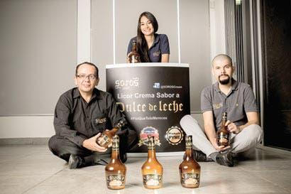 Emprendedores crean licor tipo crema