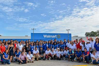 Walmart Liberia abrió sus puertas hoy