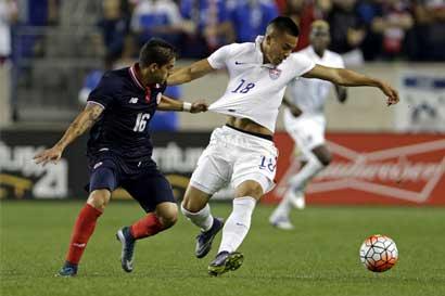 Cristian Gamboa también queda fuera de la Copa Oro