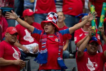 Entradas para el Costa Rica-México se agotaron en cinco horas