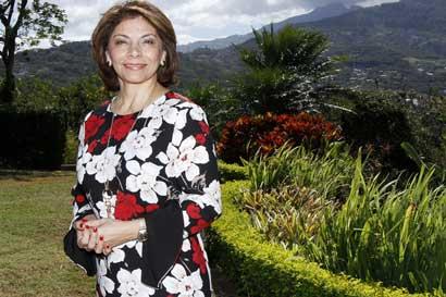 PLN considera un ridículo internacional prohibición de Venezuela a Laura Chinchilla