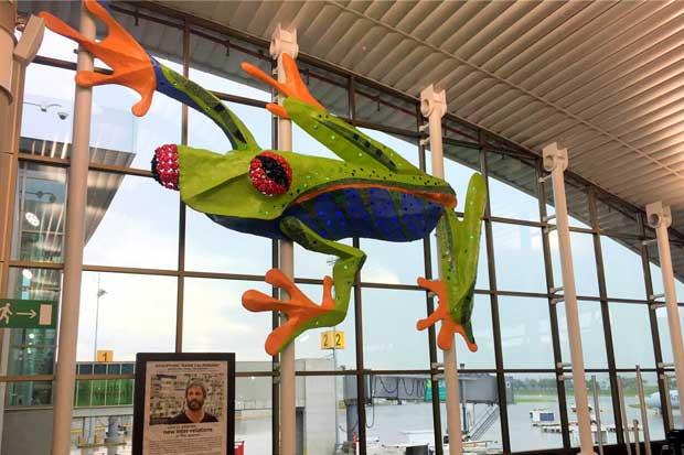 Aeropuerto Juan Santamaría se llena de arte