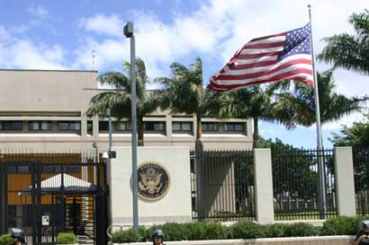Embajada de EE.UU. estará cerrada el próximo martes