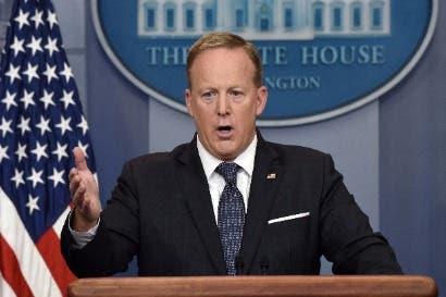 Sean Spicer renuncia como secretario de prensa de la Casa Blanca