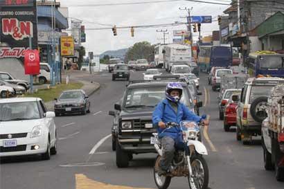 Tránsito advierte a motociclistas que no usen licencia B1 para circular