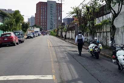 Tránsito contabiliza 113 placas retenidas por mal estacionamiento