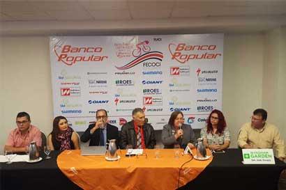 80 ciclistas formarán parte de la Vuelta Femenina a Costa Rica