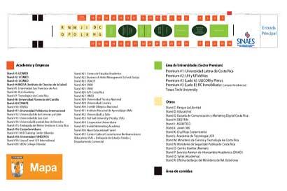 Mapa ExpoU 2017