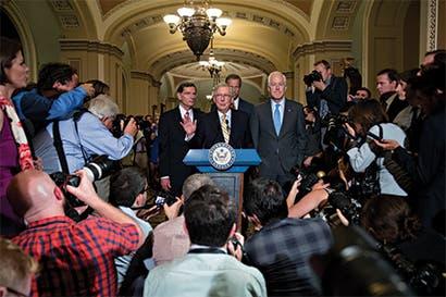 Senado de EE.UU. inició debate caótico para derogar Obamacare