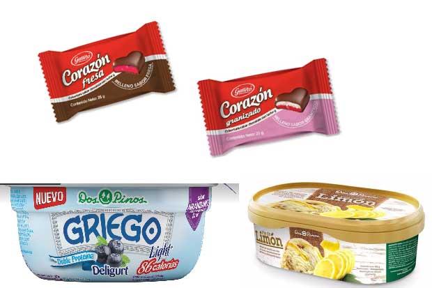 Chocolates, helado y yogurt son los nuevos productos de Dos Pinos