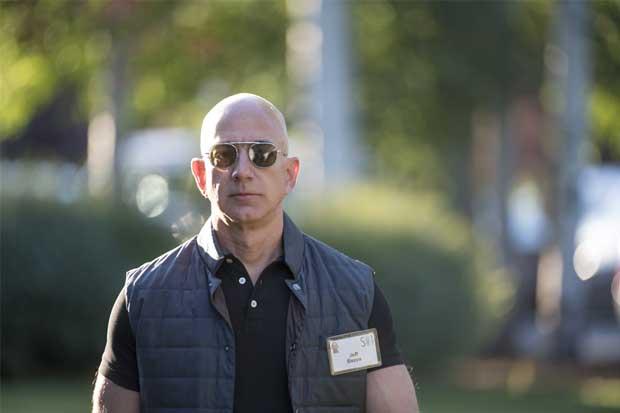 Jeff Bezos de Amazon es el más rico del mundo por unas horas