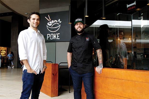 Amigos crean emprendimiento hawaiano Poke