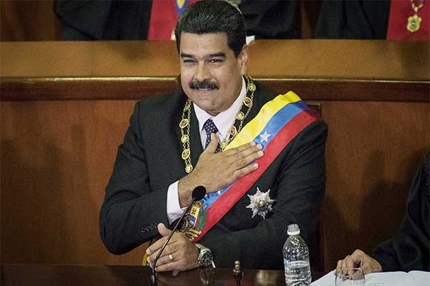 EE.UU. impone sanciones a Nicolás Maduro