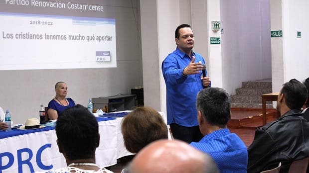 Gonzalo Ramírez es el nuevo presidente de Renovación Costarricense