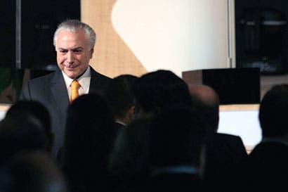 Presidente Temer reúne aliados para evitar juicio por corrupción