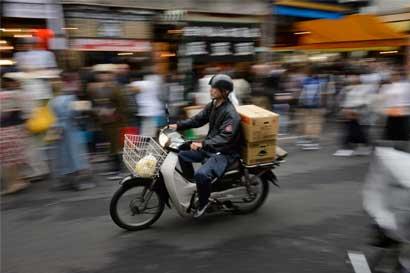 Motos repartidoras se extinguen en Japón