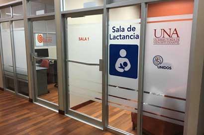 UNA implementará salas de lactancia en todas sus sedes