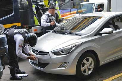 Multas por mal estacionamiento crecieron 10% en dos semanas