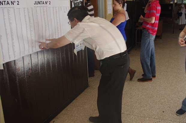 Mensajería de texto permite conocer recinto electoral