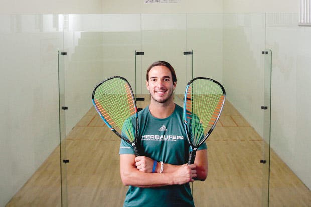 "Raquetbolista tico: ""Antes deseaba competir, ahora ganar"""