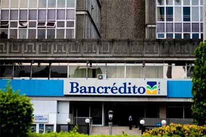 Bancrédito rematará sus propiedades