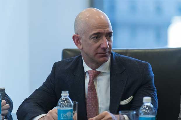 Bezos de Amazon cae a tercer lugar de los más ricos por bajón bursátil
