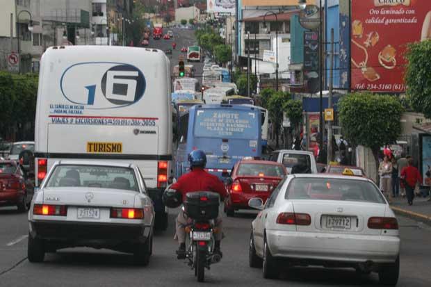 Restricción vehicular no aplicará mañana