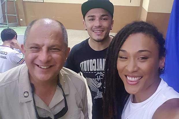"""Hanna Gabriels y """"Tiquito"""" dirigirán programa de boxeo en Mora"""