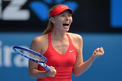 Sharapova regresará a jugar un Grand Slam 18 meses después