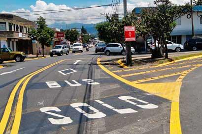 Alcalde de Tibás solicitará al MOPT eliminar un carril exclusivo para buses