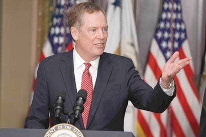 EE.UU. asume tono combativo al iniciar renegociación del TLCAN