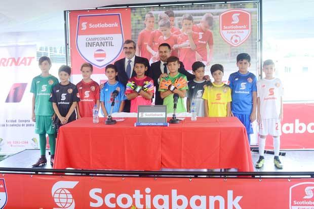 800 niños participarán en el Campeonato de Fútbol Infantil de Scotiabank