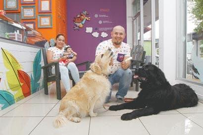 Emprendedores crean heladería para canes
