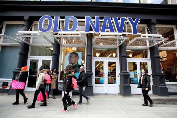 Gap se apoya en su hermano menor Old Navy para impulsar ventas