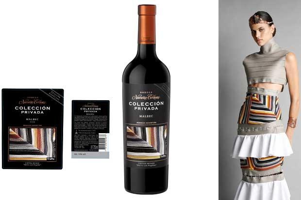 Etiqueta de vino argentino lucirá diseño de artista nacional